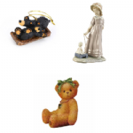 BEAR & DOLL Figurines